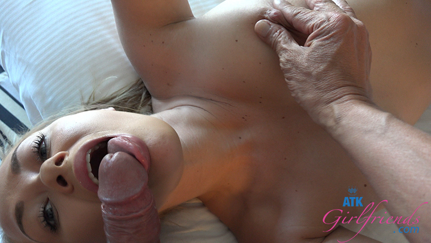 After you jam your cock in between her tits you fill her pussy with cu